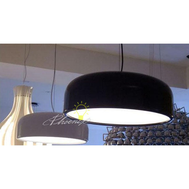 Smithfield Alminium Simple Pendant Lighting In Plating