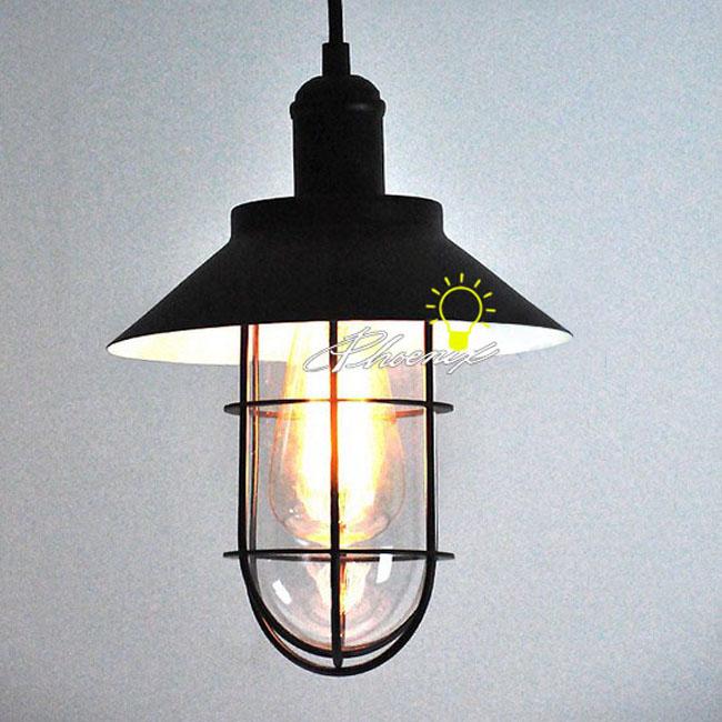 iron art and edison bulb pendant lighting in baking finish 8236. Black Bedroom Furniture Sets. Home Design Ideas