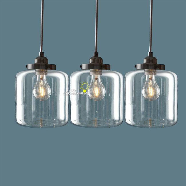 Nordic Clear Glass Jar Pendant Lighting 8861 Browse Project Lighting And Mo