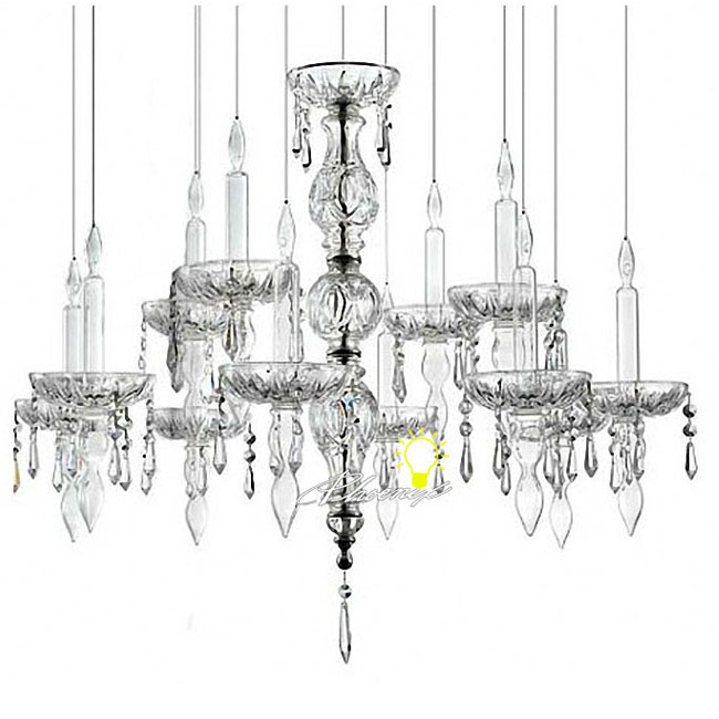 modern cognac crystal candles chandelier 9050   browse project lighting and modern lighting