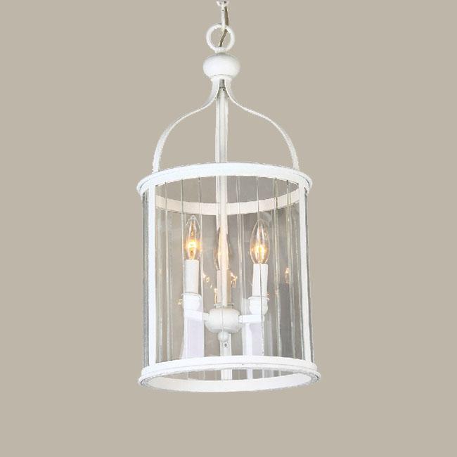 Traditional Glass And Matte Metal Pendant Lighting 10353