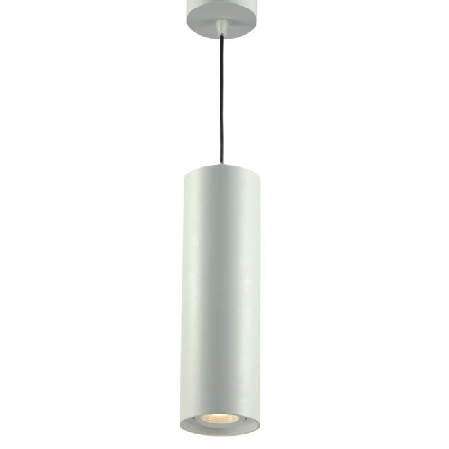 Modern White Cylinder LED Pendant Lighting 10471 Browse Project Lighting An