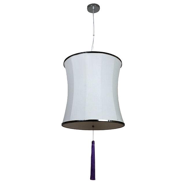 Modern Phoenix Elastic Fabric Shade Pendant Lighting 10918 Browse Project L