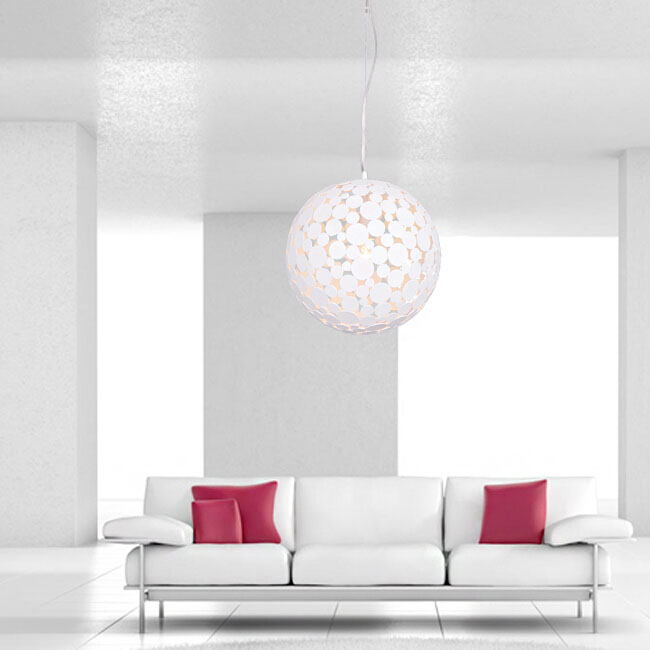 Modern Round Matte Sequins Pendant Lighting 11189 Browse