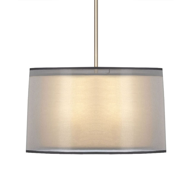 Post Modern Gauze And Fabric Shade Ceiling Lighting 11205
