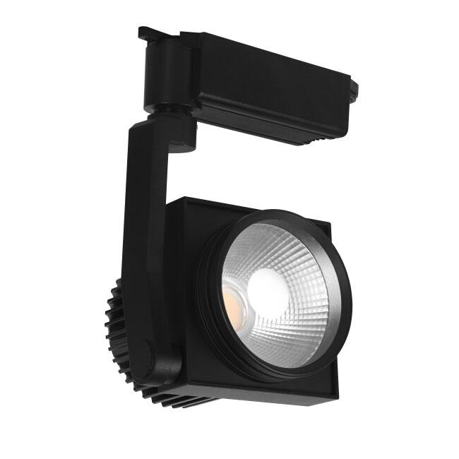 Modern white black 20w led spot track lighting 11151 for Modern led track lighting