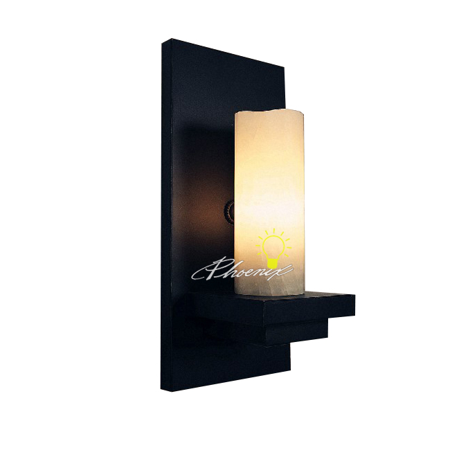 Antique Iron and Glass Candle Wall Sconce 7445 : Browse Project Lighting and Modern Lighting ...