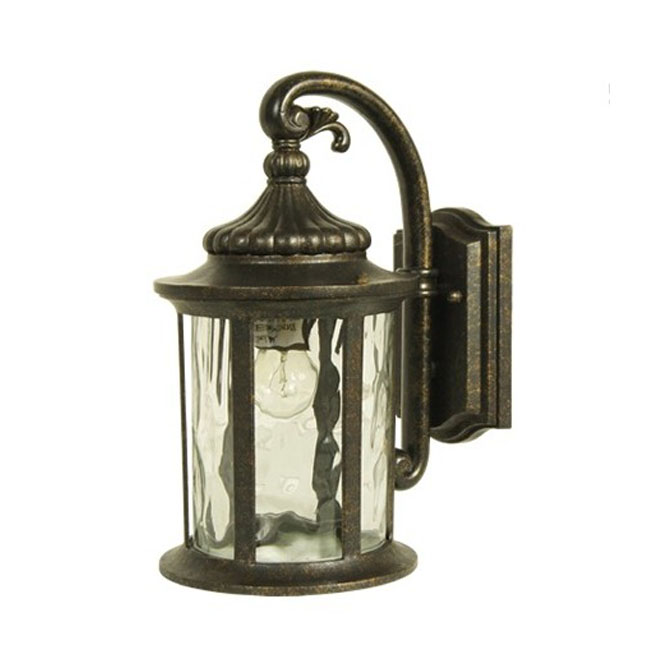 Antique Tin Wall Sconces : Antique Metal And Water Glass Wall Sconce 9543 : Browse Project Lighting and Modern Lighting ...