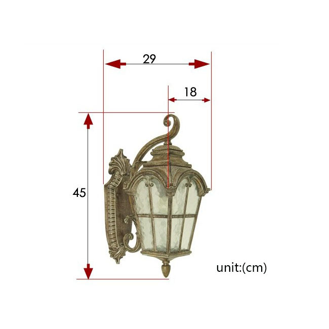 Wall Sconce Light Installation : Antique 0554 Water Glass Outdoor Wall Sconce 9572 : Browse Project Lighting and Modern Lighting ...