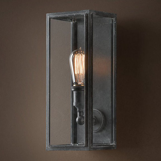 3 Light Wall Sconce Bronze : LOFT Light Box Wall Sconce 9816 : Browse Project Lighting and Modern Lighting Fixtures For Home ...