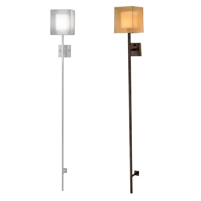 Wall Sconces Long : Antique Copper OR Sliver Long Role Wall Sconce 10014 : Browse Project Lighting and Modern ...
