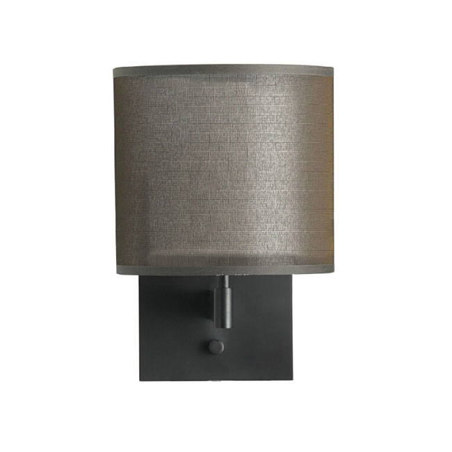 Modern Fabric Wall Lights : Post Modern Gauze and Fabric Shade Wall Sconce 11202 : Browse Project Lighting and Modern ...