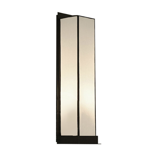 Post Modern Long Iron and Flax Wall Sconce 11661 : Browse Project Lighting and Modern Lighting ...